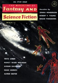 THE MAGAZINE OF FANTASY AND SCIENCE FICTION - March 1962