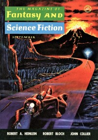 THE MAGAZINE OF FANTASY AND SCIENCE FICTION - September 1958