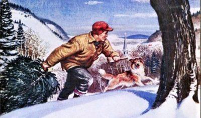 ARGOSY-December-1950---Christmas-cover