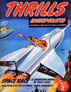 THRILLS INCORPORATED - First issue, March 1950