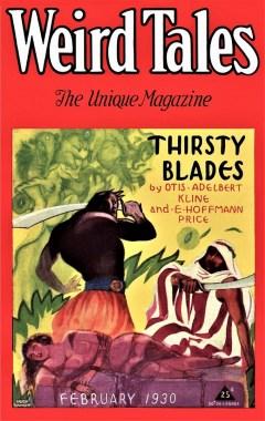 WEIRD TALES - February, 1930