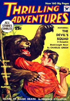 THRILLING ADVENTURES - May 1934
