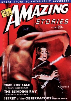 AMAZING STORIES - August 1938