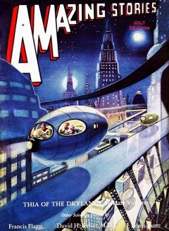 AMAZING STORIES - July 1932