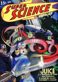 SUPER SCIENCE STORIES - May 1940