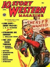 10 STORY Western - April 1953