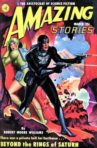 AMAZING STORIES - March 1951