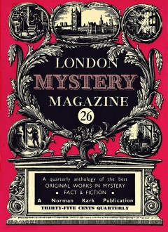 THE LONDON MYSTERY MAGAZINE - September 1955