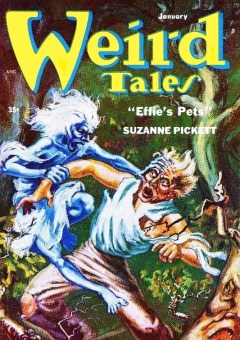 WEIRD TALES - January 1954