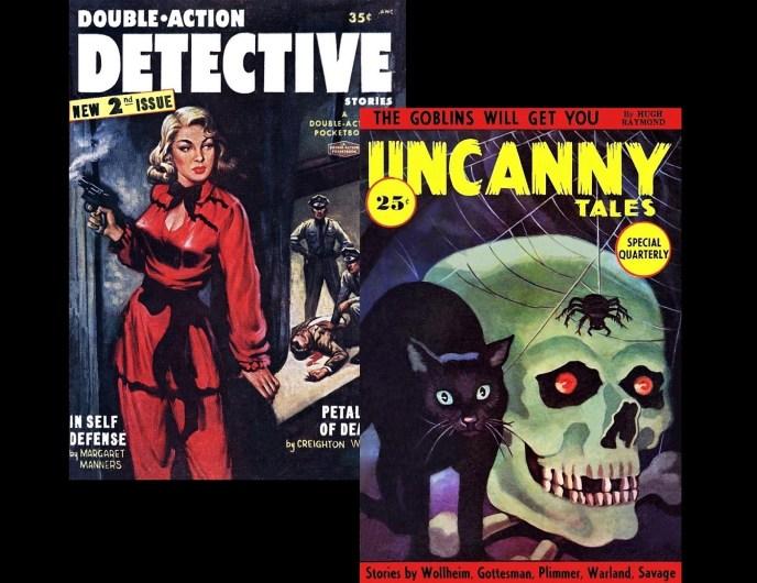 DOUBLE ACTION DETECTIVE - UNCANNY TALES