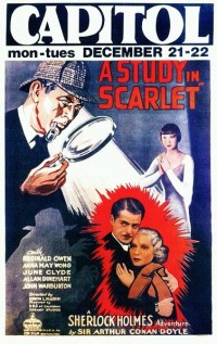 A STUDY IN SCARLET - 1933