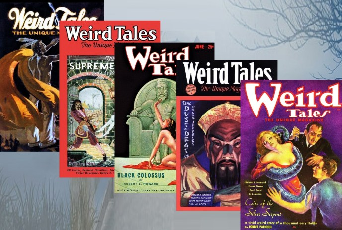 WEIRD TALES magazine  covers