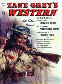 ZANE GREY'S WESTERN MAGAZINE - November 1951