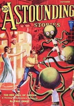 ASTOUNDING STORIES - October 1931