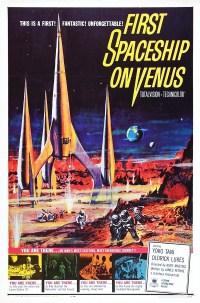 FIRST SPACESHIP ON VENUS - 1960