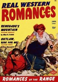 REAL WESTERN ROMANCES - January 1950