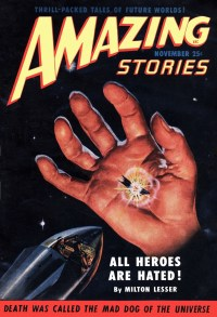 AMAZING STORIES - November 1950