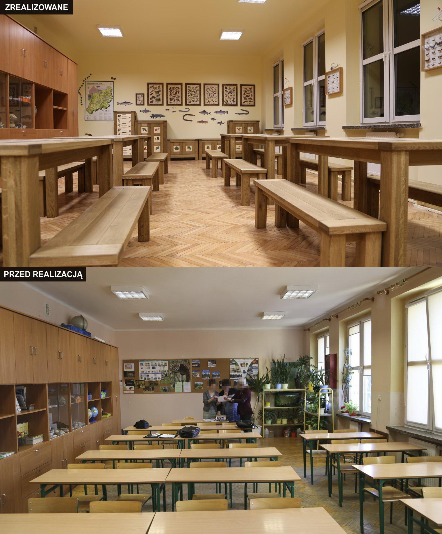 Izba edukacyjna - sala bioróżnorodności - Szkoła Podstawowa nr 4 w Białogardzie