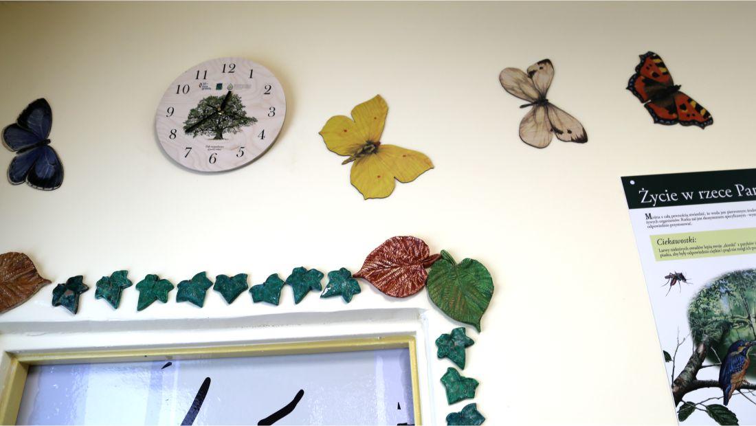 Dekoracje ścienne - Motyle 2