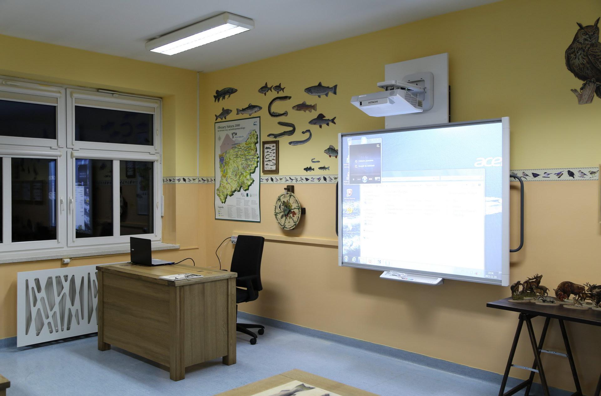 Izby edukacyjne lesne - sale przyrodnicze, wystroj wnetrz - ZS Dargin (3)