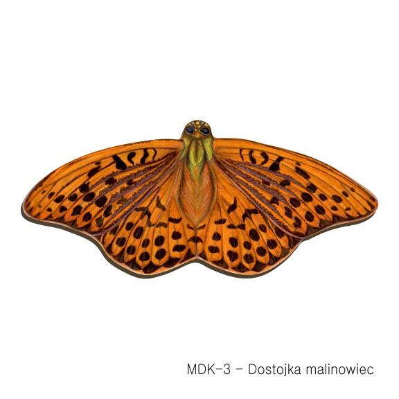 MDK-3 - Dostojka malinowiec (magnesy drewniane ksztalty)