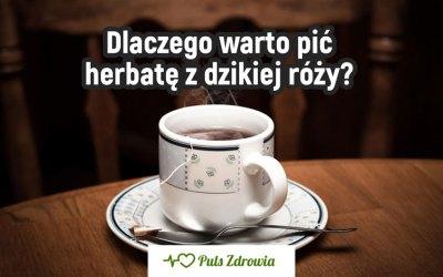 Dlaczego warto pić herbatę z dzikiej róży?