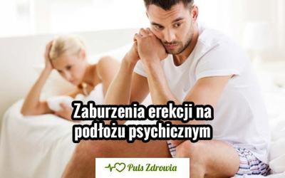 Zaburzenia erekcji na podłożu psychicznym
