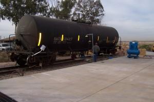Rail Tank Car Blending