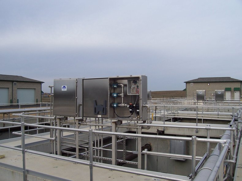 biological nutrient removal mixing system