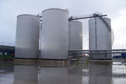 five tank pulsair tank mixing system