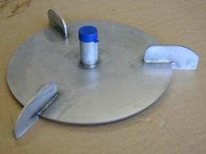 air accumulator plate
