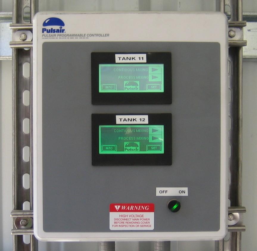 tank mixing system