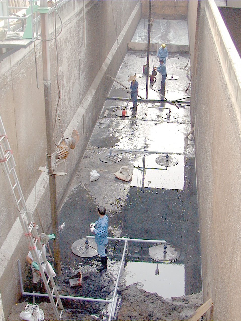 wastewater mixing system