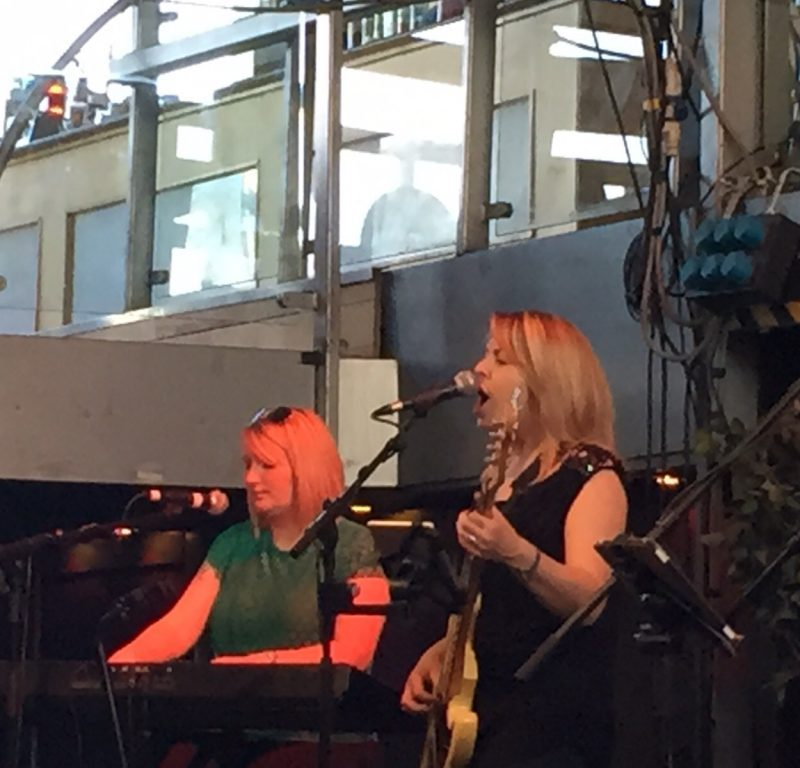 Pulse Wedding Band Showcase Ferry Glasgow 16-08-2015 Louise & Tracy