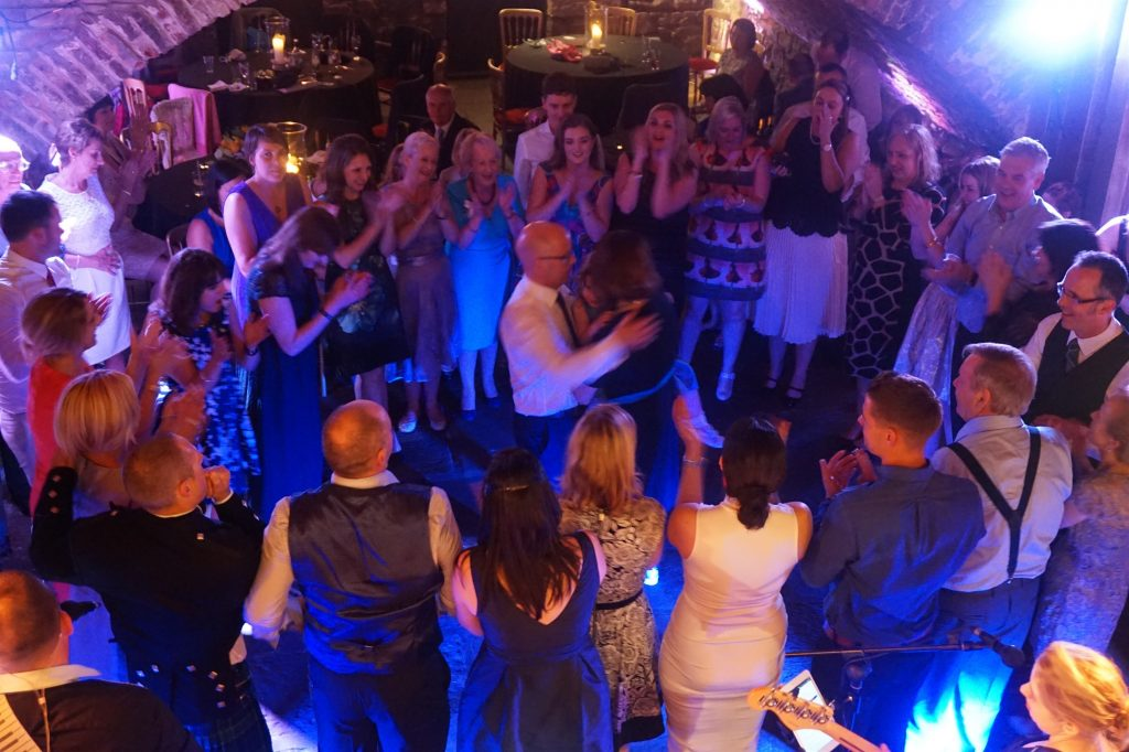 Pulse Wedding Band Play At Marlins Wynd Edinburgh