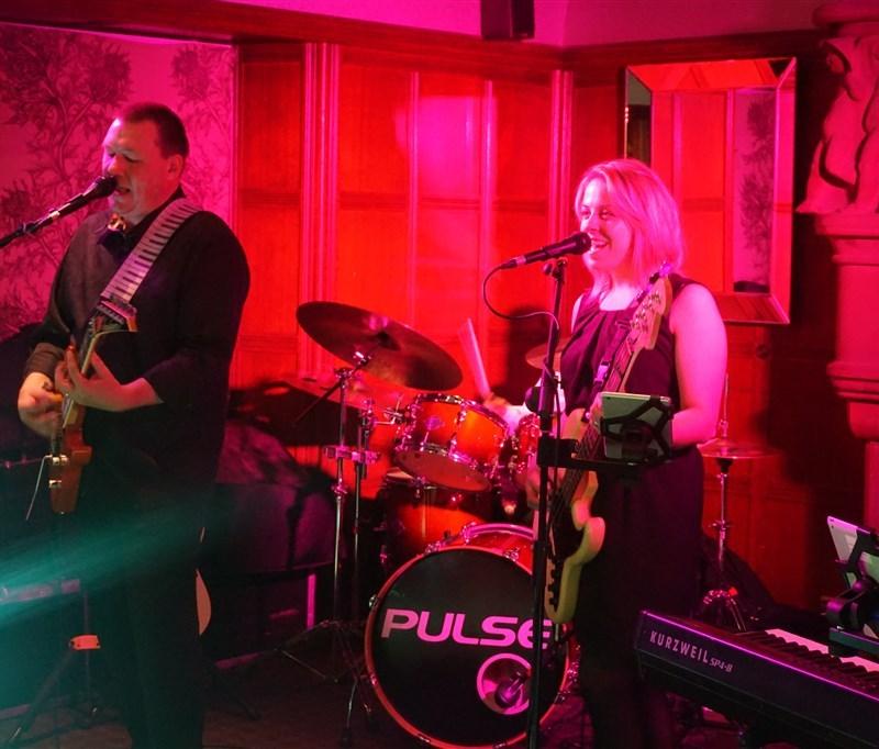 Pulse wedding Band Ayrshire at Piersland House, Troon