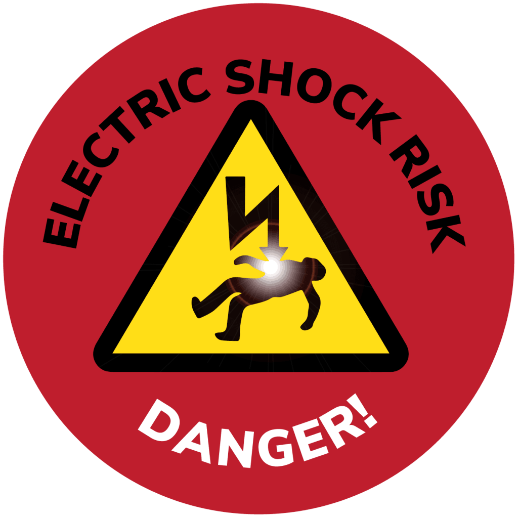 PULSE ELECTRICAL ELECTRIC SHOCK WARNING
