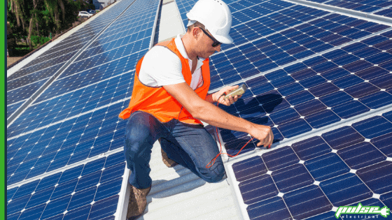 solar panels maintenance package
