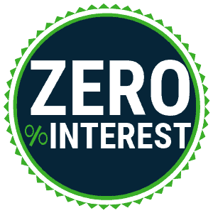 zero percent interest on Solar panels