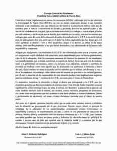 Consejo General de Estudiantes Pontifica Universidad Católica de Puerto Rico