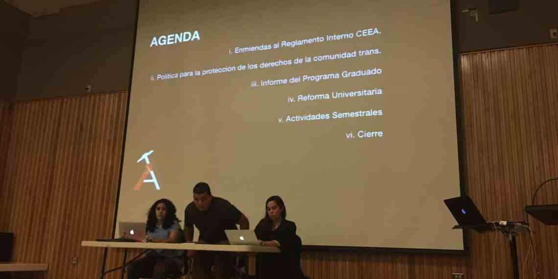 Arquitectura rechaza recortes a presupuesto UPR