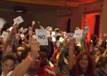 Estudiantes abandonan senado académico tras negativa de diálogo sobre decisiones de asamblea