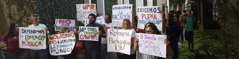 PAReS muestra apoyo a rectora interina de Río Piedras