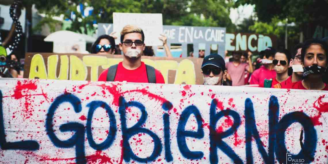 Marcha silente en contra de enmiendas al Código Penal