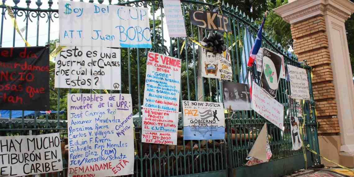 UPR presenta recurso legal para obligar a Policía a actuar