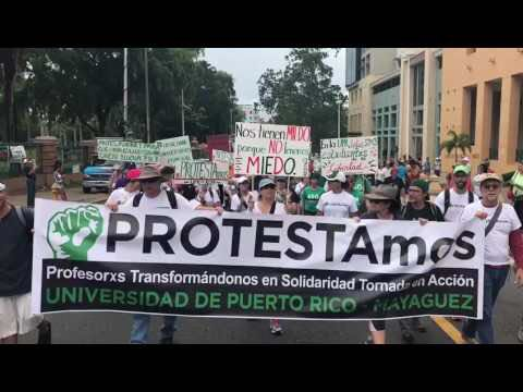 Se reúne Pleno Nacional de Docentes sin Plaza en la UPR