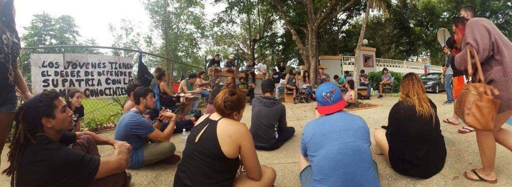 Insatisfecha rectora de UPR Utuado con Movimiento Estudiantil del recinto