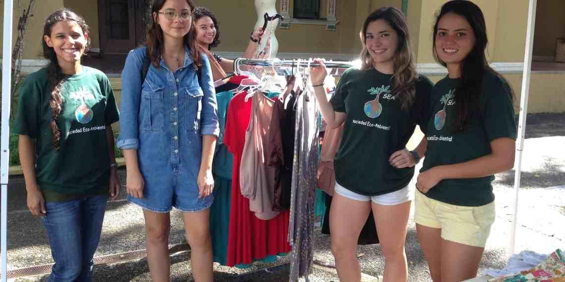 Intercambio de ropa por una buena causa