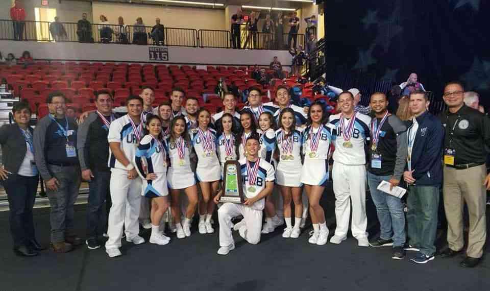 "UPRB y UPRM brillan en el ""College Cheerleading and Dance Team National Championship"""