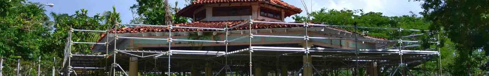 Estudiantes de la UPR de Río Piedras rehabilitan la Glorieta Fabián